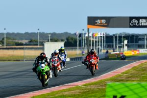Staring captures stunning race one ASBK victory at The Bend