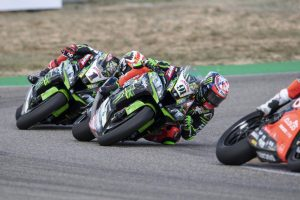 Haslam upbeat following improved race two in Spain