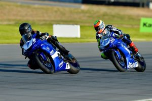 Yamaha riders trade wins at The Bend ASBK