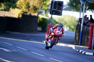Johnson earns maiden Isle of Man TT Superstock podium