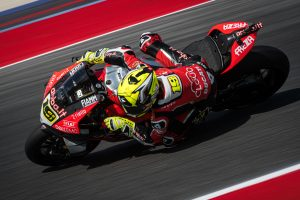 Bautista suffers points hit with Misano race two crash
