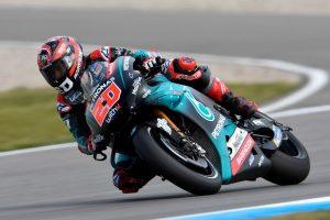 Quartararo hindered by arm problem in Dutch GP podium