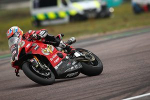Double podium for Brookes at Thruxton BSB