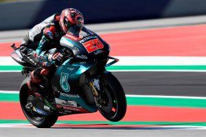 Tyre gamble pays off for Quartararo in Austrian GP podium