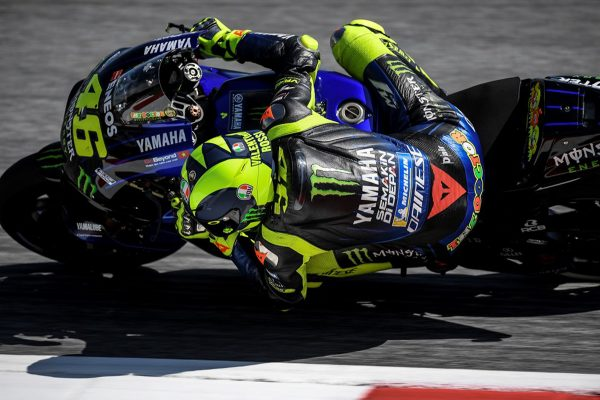 Rossi optimistic ahead of favoured Silverstone grand prix