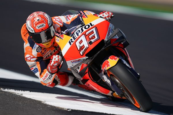 Marquez earns Silverstone pole as Miller lands on the front row