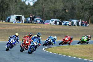 ASBK podium domination for Pirelli at Morgan Park Raceway