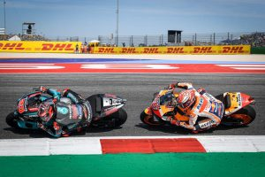 Quartararo describes Marquez battle as career highlight