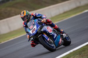 Van der Mark fastest in rain-affected Friday practice at Magny-Cours