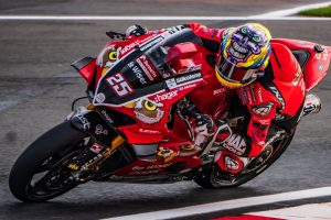 Double podium for Brookes at Donington Park BSB