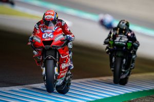 Motegi comeback grants Dovizioso third in Japan