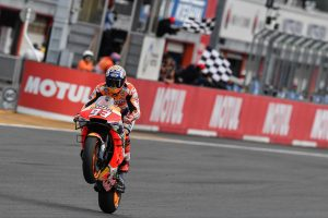 Champion Marquez secures Japanese grand prix win
