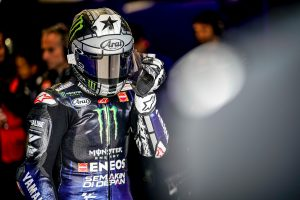 Last lap crash 'maybe a mistake' reflects Vinales