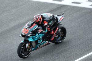 Quartararo edges Vinales and Marquez for Thai MotoGP pole