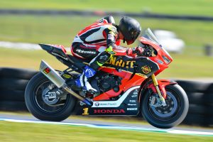 Penrite Honda Racing's Herfoss takes ASBK championship lead with Phillip Island victory