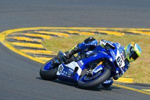 Yamaha's Halliday sets Friday ASBK benchmark in Sydney