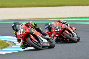 Penrite Honda Racing delivers 1-2 result on GP weekend