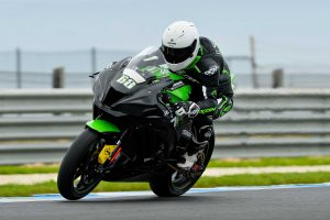 Maiden Kawasaki BCperformance outing met with optimism for Scott