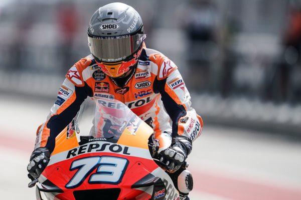 Understanding bike set-up the focus for Marquez