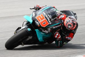 Quartararo leads Petronas Yamaha 1-2 on day one of Sepang MotoGP test