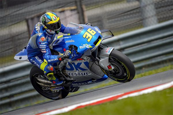Suzuki to continue with Mir for another two years