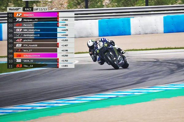 Vinales breaks through in Virtual Grand Prix of Spain