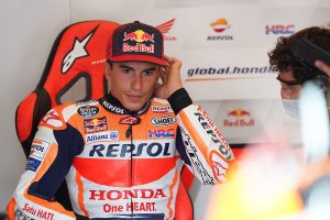 HRC reveals Marquez to be out for up to three more months