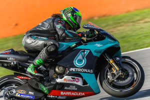 Morbidelli leads all Yamaha front row in Catalunya